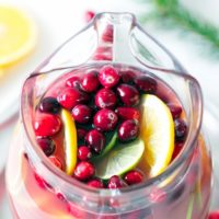 cranberry-orange punch recipe holiday