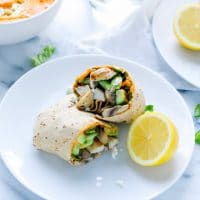 roasted-red-pepper-hummus-chicken-wrap