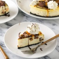 #GameDayGlory snickers cheesecsake recipe