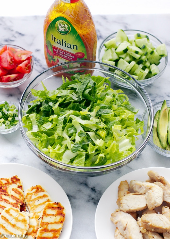 halloumi-and-chicken-salad