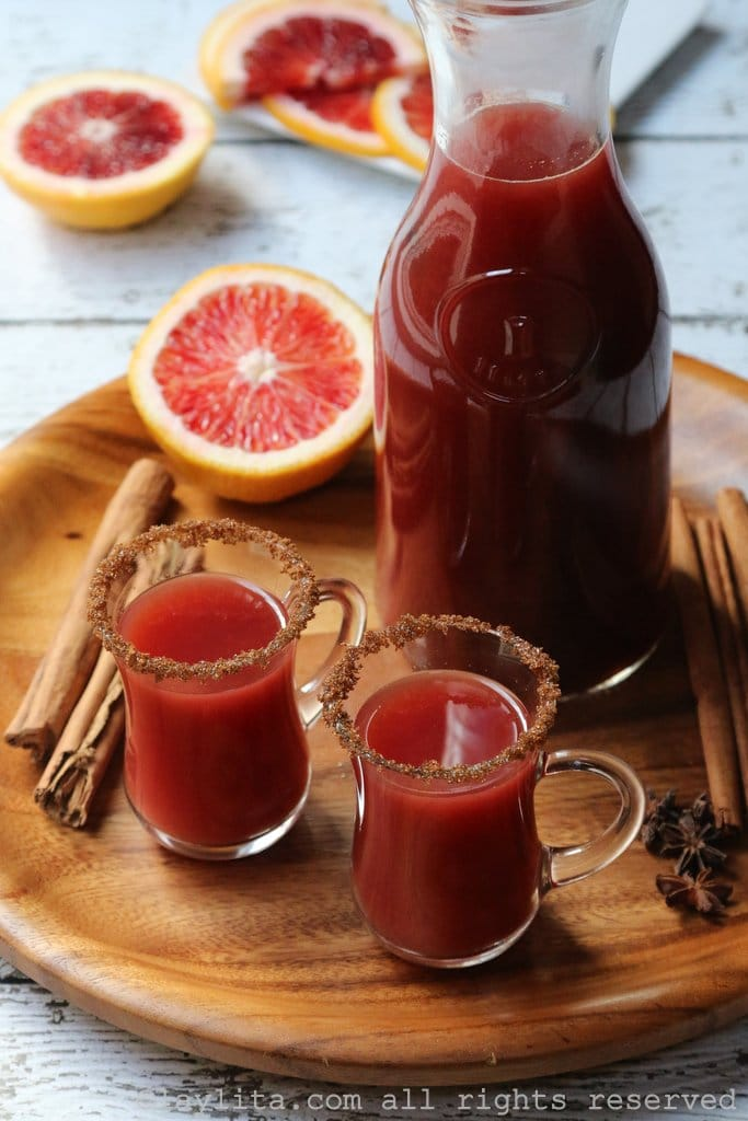 Spiced-blood-orange-cocktail