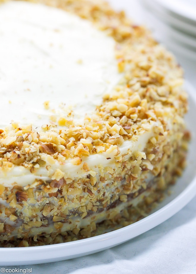 Carrot Cake Recipe In Grams