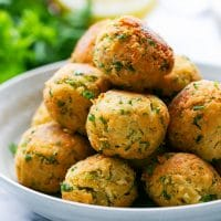 The best homemade Easy fried falafel recipe