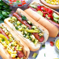 hebrew national hot dogs fun toppings