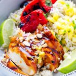 teriyaki chicken pineapple rice bowls blue diamond