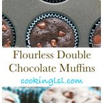 Flourless-Double-Chocolate-Muffins