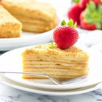 Honey Layer Cake Medovik Recipe