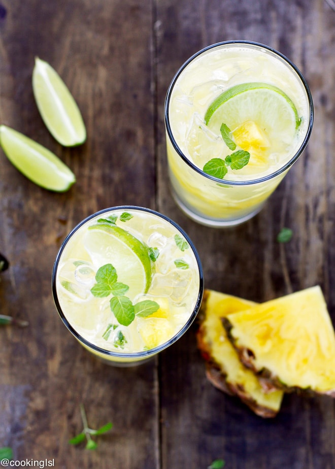 Pineapple-Mojito-Cocktail-Recipe