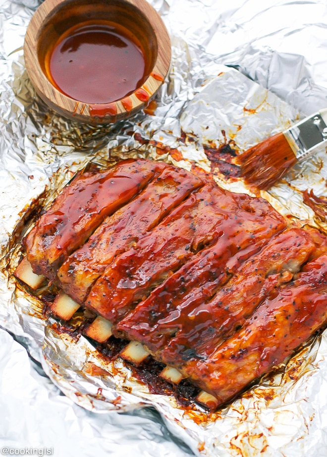 These Oven Baked St Louis Style Ribs