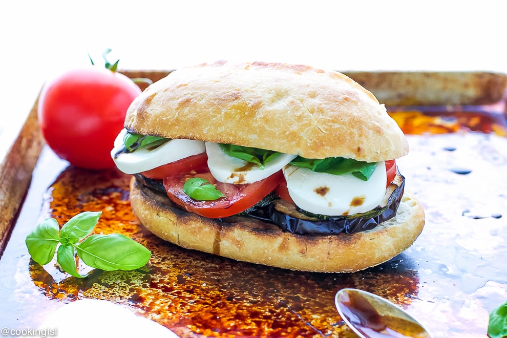 Grilled-Veggie-Caprese-Sandwich-Recipe