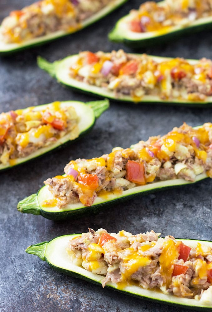 tuna-vegetable-zucchini-boats-3