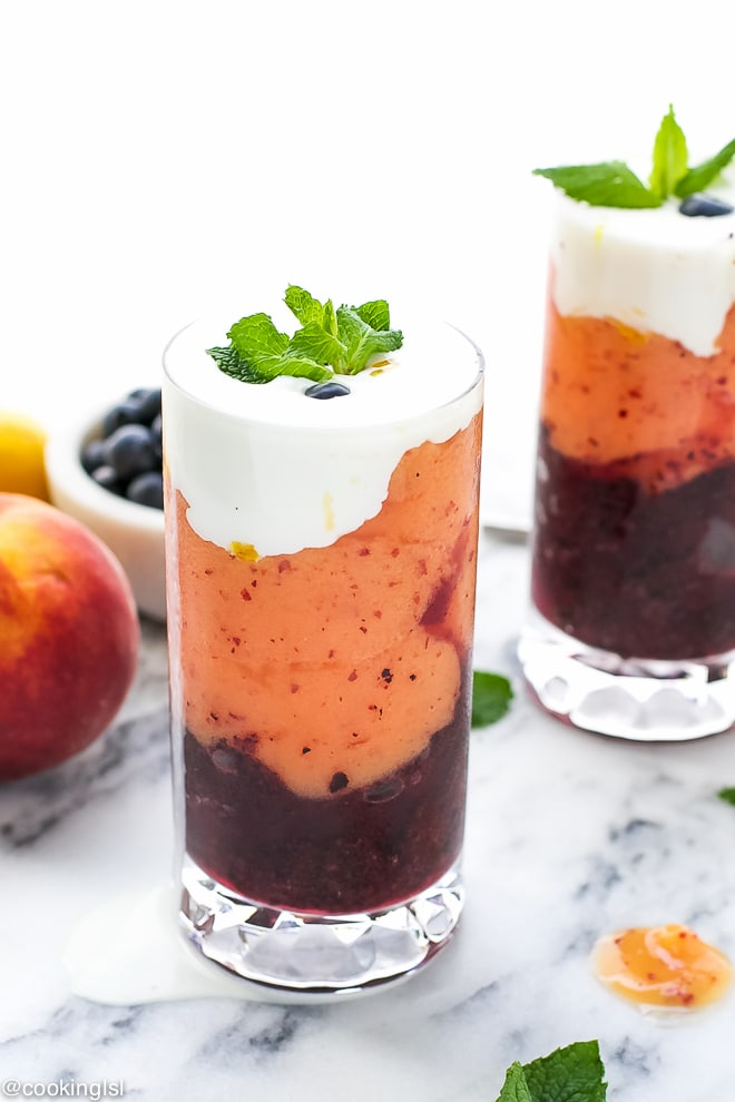 Blueberry-Peach-Layered-Slushie-Recipe