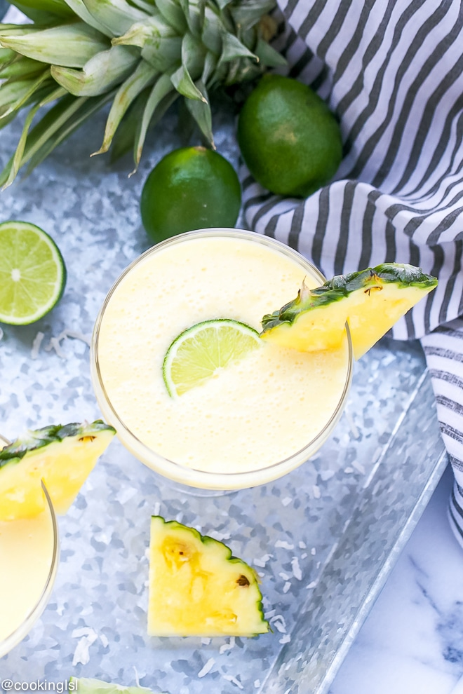 Pineapple Daiquiri Recipe
