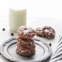 Fudgy Brownie Cream Cheese Cookies Recipe
