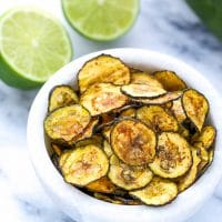 Chili Lime Zucchini Chips Recipe Oven Baked