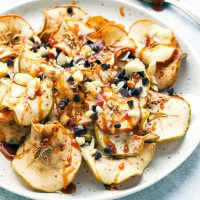 apple chips nachos baked recipe