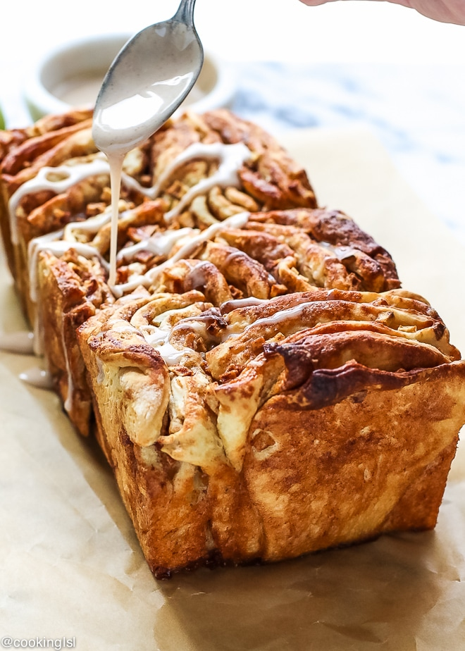 Cinnamon Apple Pull-Apart Bread Recipe