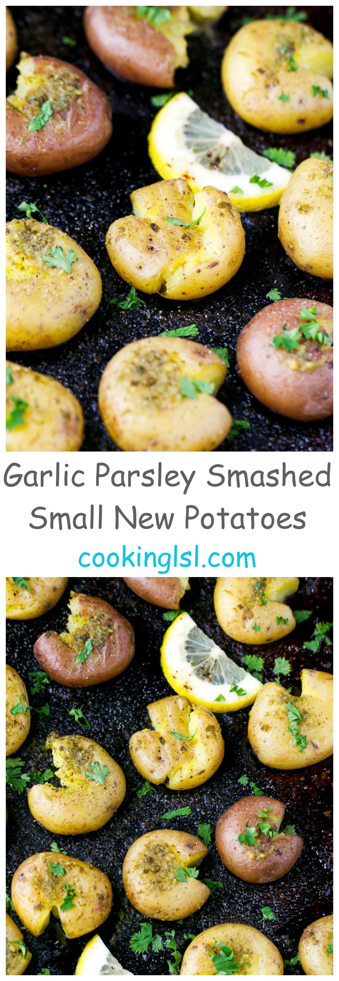 Garlic-Parsley-Smashed-Small-New-Potatoes-Recipe
