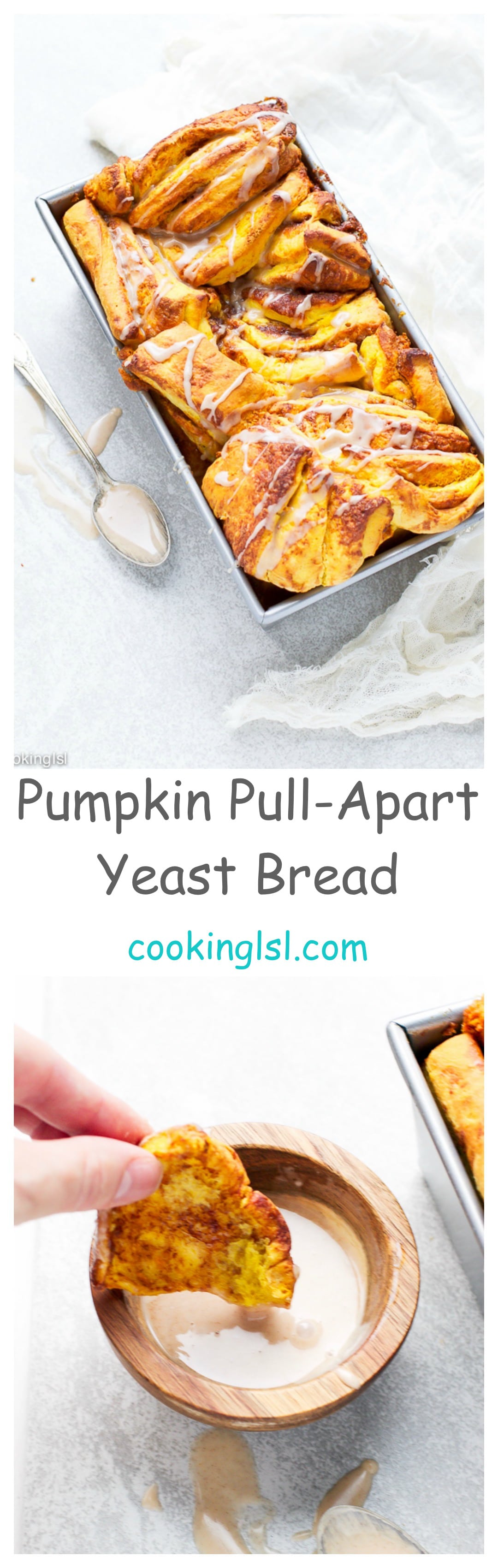 Pumpkin-Pull-Apart-Yeast-Bread-Recipe