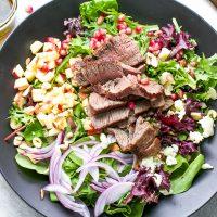 Fillet Mignon Fall Salad Recipe