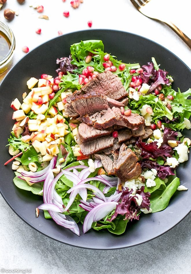 Fillet-Mignon-Fall-Salad-Recipe