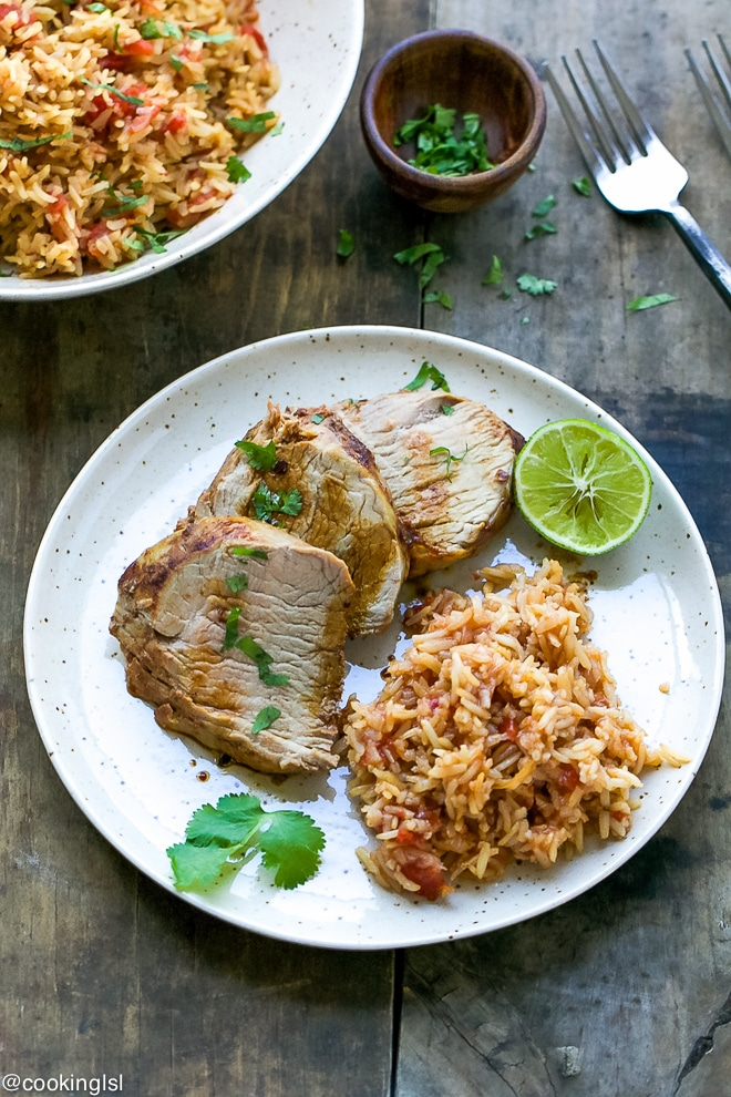 vivalamorena-Chipotle-Pork-Tenderloin-And-Mexican-Rice-Recipe