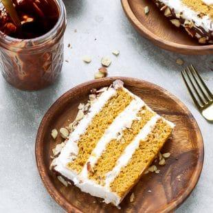 Pumpkin Tiramisu Cake Recipe