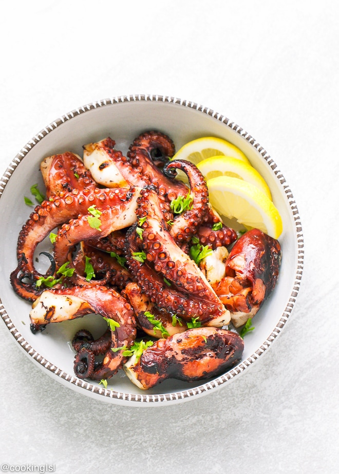 Easy Grilled Octopus Recipe