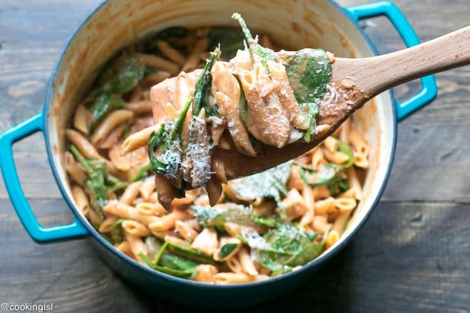 creamy one pot pasta