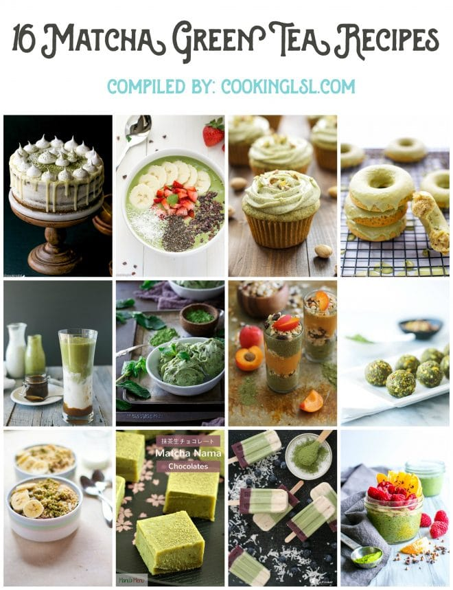 16 matcha recipes roundup . Baked goods, smoothies, gnocchi, desserts.