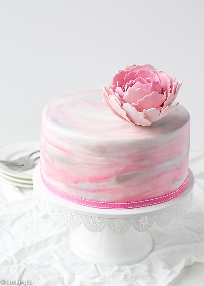 How To Make Colored Fondant For Cakes