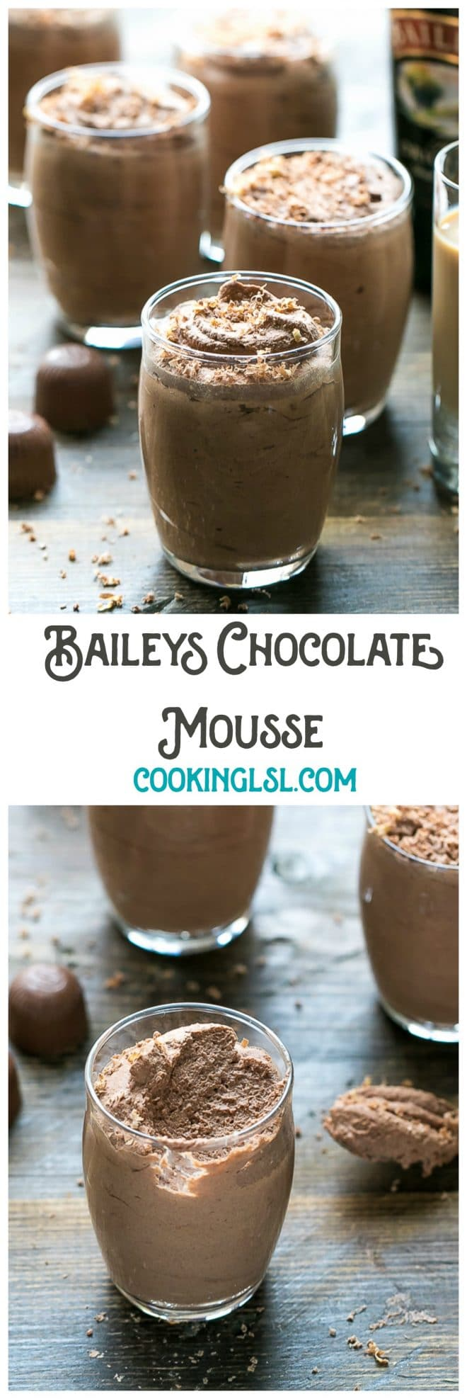 Easy Baileys Chocolate Mousse Recipe - Cooking LSL