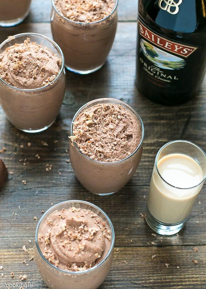 Easy Baileys Chocolate Mousse Recipe