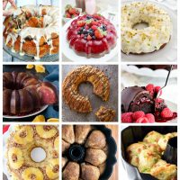 Creative Bundt Pan recipes