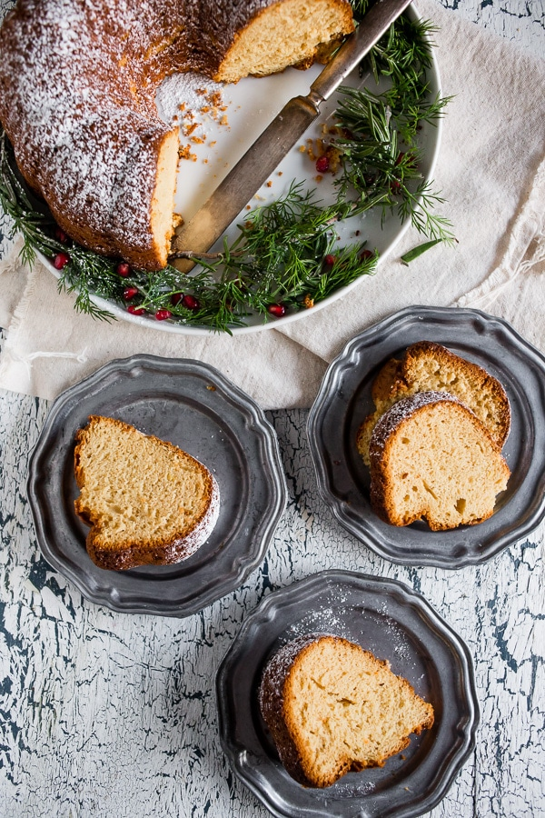 cream sherry bundt cake