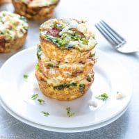 Mediterranean Egg White Breakfast Cups Recipe