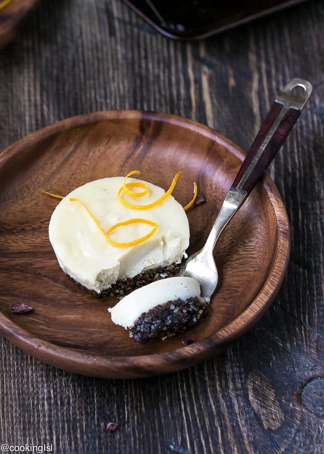 Raw Orange Creamsicle Cheesecake Cups {Vegan And Gluten Free}