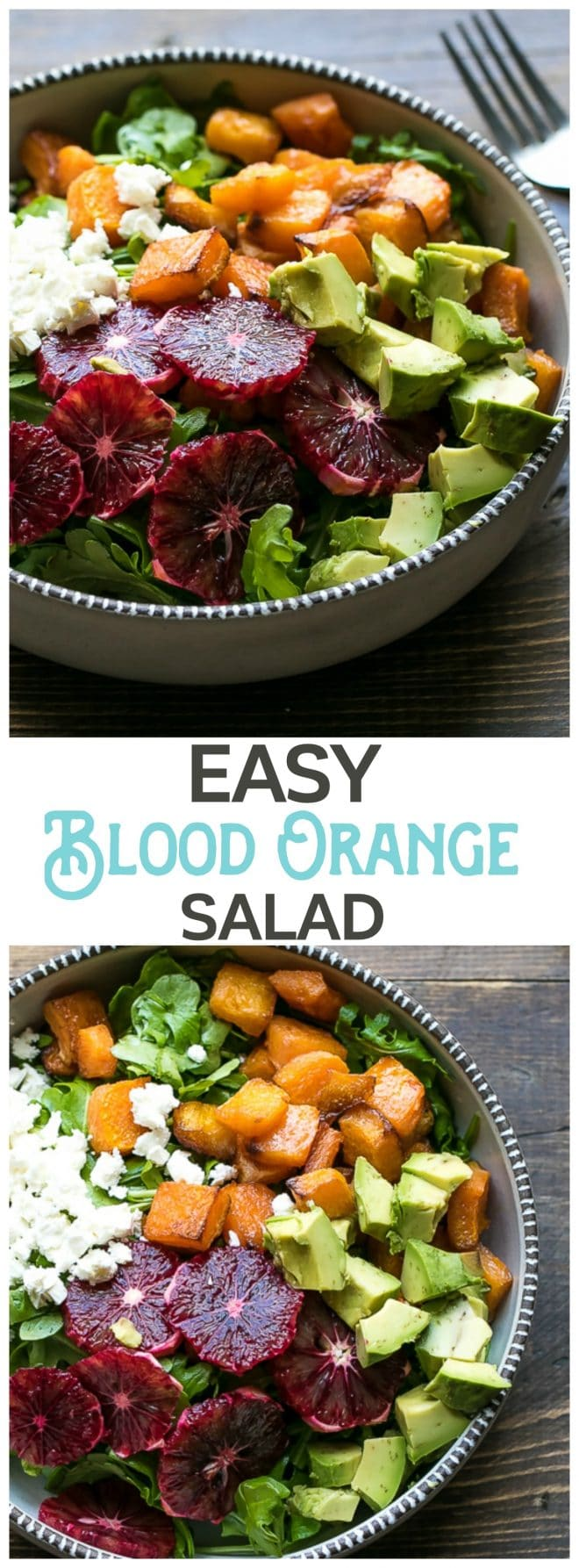 Roasted Butternut Squash And Blood Orange Salad