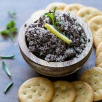 cauliflower olive tapenade