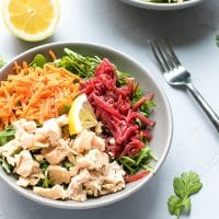 Arugula Beet Tuna Salad Recipe