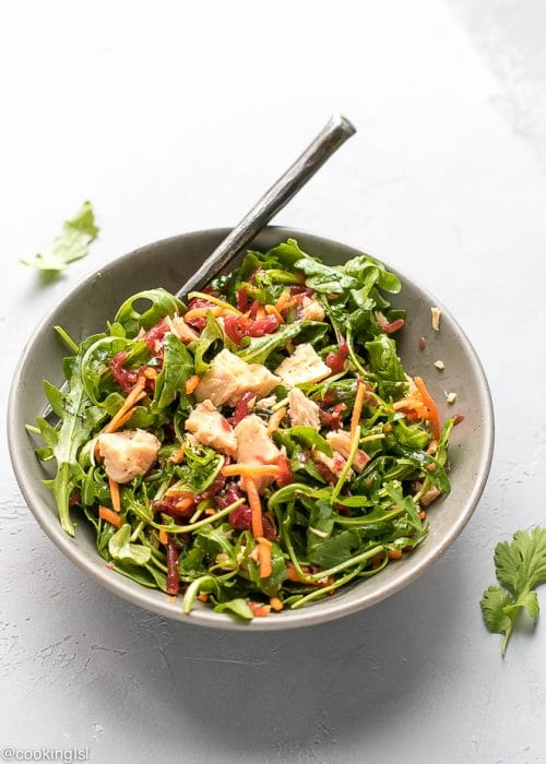 Arugula Beet Tuna Salad Recipe