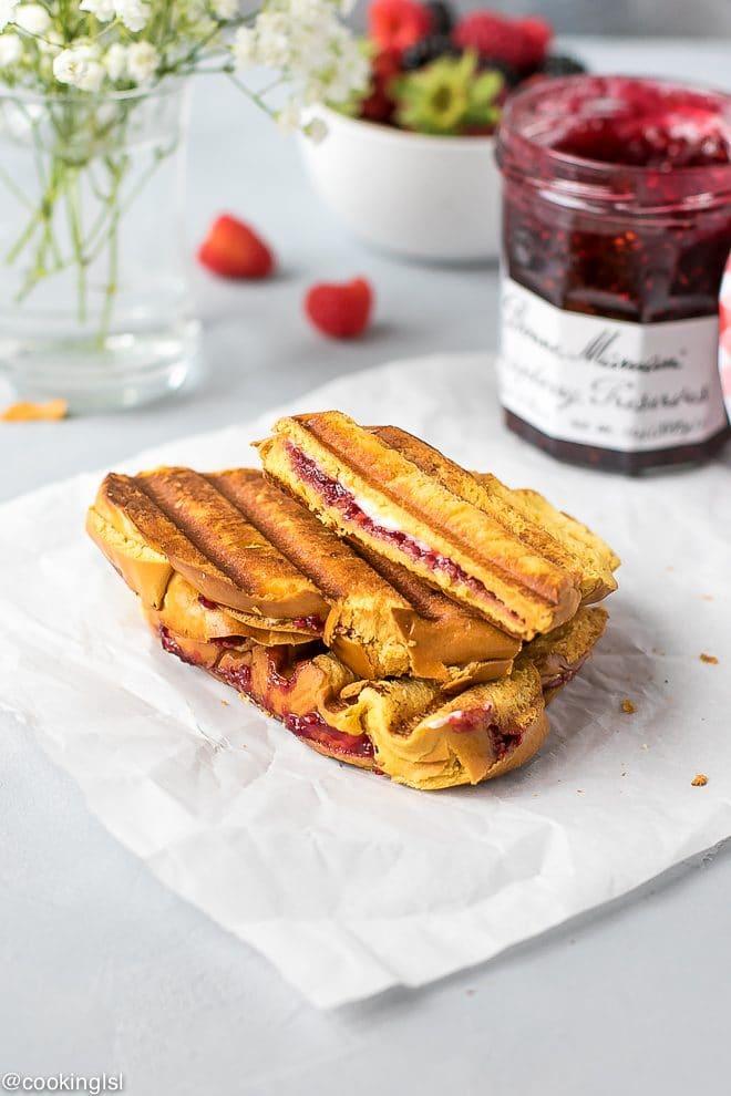 Sweet Raspberry Panini