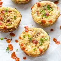 Cauliflower Quinoa Egg White Cups