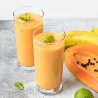 Turmeric Papaya Smoothie