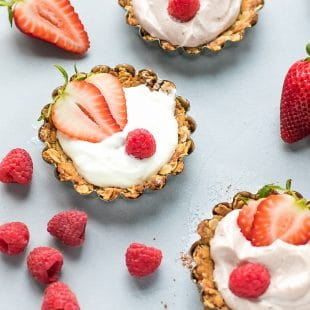 Lightened Up Granola Yogurt Tarts Recipe