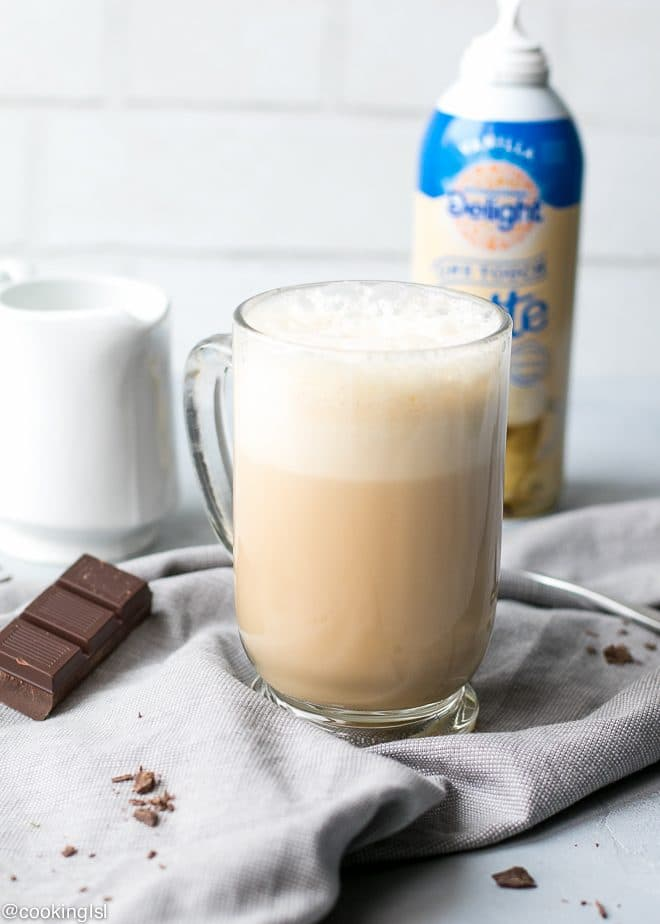 International Delight One Touch Latte Dark Chocolate Latte