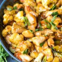 Teriyaki Chicken And Cauliflower Recipe