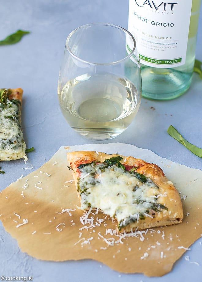 Spinach And Havarti Pizza Recipe