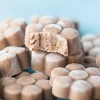 Protein Frozen Yogurt Bites - light, nutritious and healthy