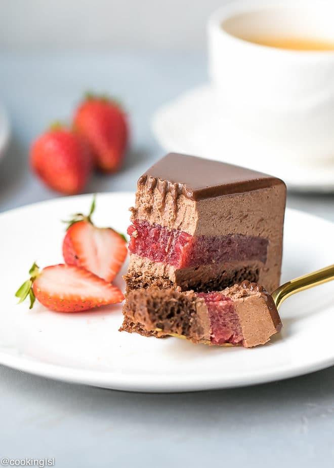 Mirror Glaze Recipe  Inch Cake